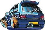 Koolart Car Tax Disc Holder RENAULT CLIO WILLIAMS