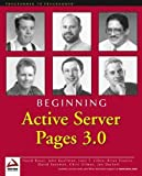 img - for Beginning Active Server Pages 3.0 by David Buser (2000-07-11) book / textbook / text book