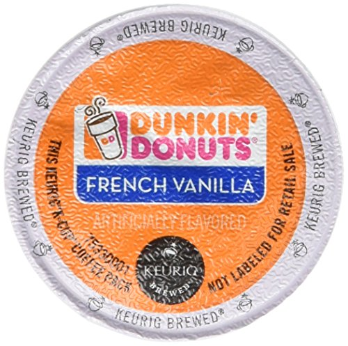 Dunkin Donuts French Vanilla Flavored Coffee K-Cups For Keurig K Cup Brewers - 32 Pack (Coffee Bean French Brew Pods compare prices)