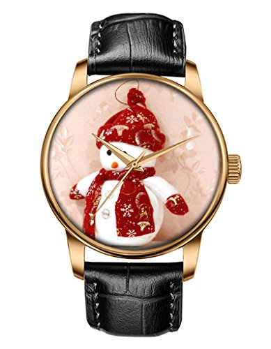 Ladies Watch for Christmas, OOFIT Print Dial