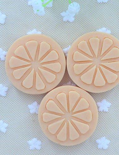 LY&HYL 2015 nouvelle tranche de fruit de citron gâteau fondant au savon moule moule en silicone de chocolat, des outils de décoration ustensiles