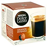 Nescafe Dolce Grande Intenso Coffee Pods - Pack of 3 (16 Capsules x 3, 48 servings)