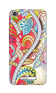 SWAG my CASE Printed Back Cover for Lava Iris X8