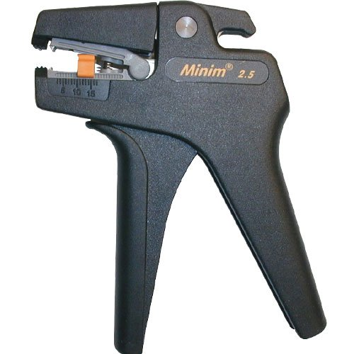 Platinum Tools 15305 Minim 2.5 Self Adjusting Wire Stripper 30-13 AWG Box
