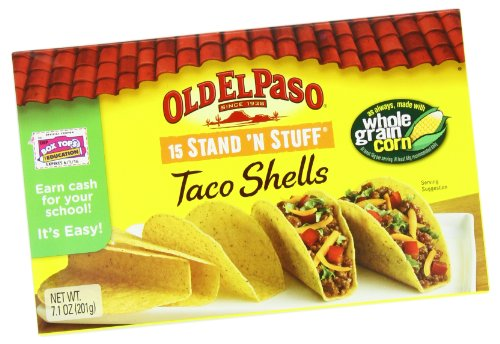 Old El Paso Stand and Stuff Taco Shells, 201 Grams (Pack of 6)