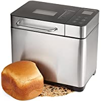 Andrew James Fresh Bake Digital Bread Maker With 17 Functions, Delay Timer And Automatic Ingredients Dispenser - Includes 2 Year Warranty