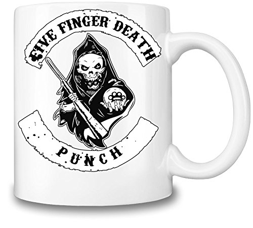 Five Finger Death Punch Logo Tazza Coffee Mug Ceramic Coffee Tea Beverage Kitchen Mugs By Genuine Fan Merchandise
