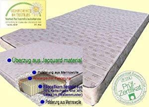 Komfort Plus Kaltschaum Matratze 120 x 200  Kundenbewertung und weitere Informationen