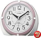 CITIZEN(シチズン) 電波アナログ目覚し時計 電子音タイプ ネムリーナマリン 4RL431-013 4RL431-013