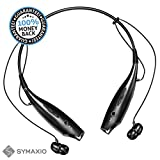 MaxWave Bluetooth Headset with Microphone, Black