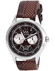 Watch Me Black Genuine Leather Analogue Watch For Men WMAL-027