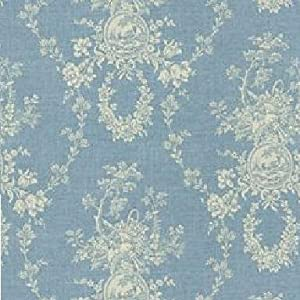 54 wide fabric country house color chambray waverly toile fabric by the yard. Black Bedroom Furniture Sets. Home Design Ideas