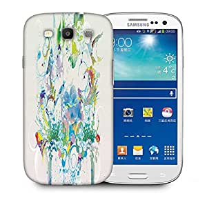 Snoogg Abstract Bird Art Designer Protective Phone Back Case Cover For Samsung Galaxy S3