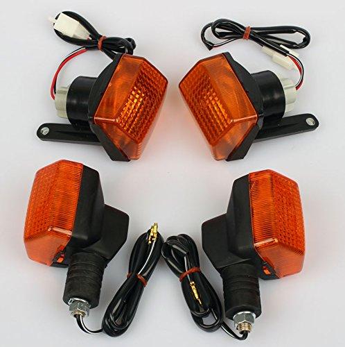 4x Frecce Indicatore per Honda CBR 600 F PC19 PC23 87-90 33450-MN4-671 33500-MN4-601