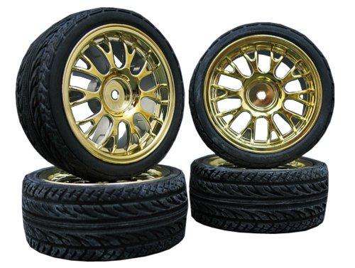 4x-Onroad-Reifen-Felgen-FR3-110-Custom-DesignFarbe-whlbar