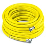 COLOURWAVE Premium Rubber Hose, 5/8-Inch by 100-Feet, Yellow