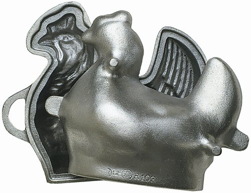 chicken shaped cake pan