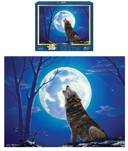 Lone Wolf 300-Piece Puzzle