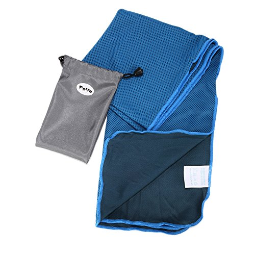 FoVo Cooling Towel Blue Waterproof Packaging 100% Money Back Guarantee (2004 Gmc Sierra 2500hd Radiator compare prices)