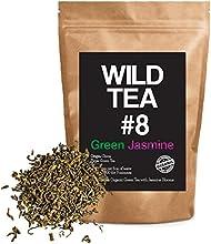 Organic Green Tea with Jasmine Wild Tea 8 Premium Loose Leaf Green Jasmine Tea 4 ounce