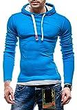 BOLF Sweatshirt Herrenshirt Longsleeve Langarmshirt Hoodie Pullover 03