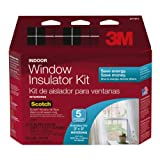 2 Pack of 3M Indoor Insulator Kit, 5-Window