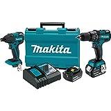 makita xt248mb 18v lxt lithium ion brushless cordless 2 pc combo kit 40ah