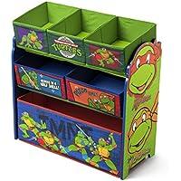 Delta Nickelodeon Teenage Mutant Ninja Turtles Multi-Bin Toy Organizer
