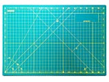 Self Healing Cutting Mat A3 With Grids - 18L x 12W Inches - Professional Double Sided Rotary Cutting Mat with Grids