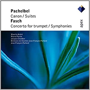 Pachelbel / Fasch: Canon - 2 Suites For Strings / Concerto For Trumpet - 2 Symphonies