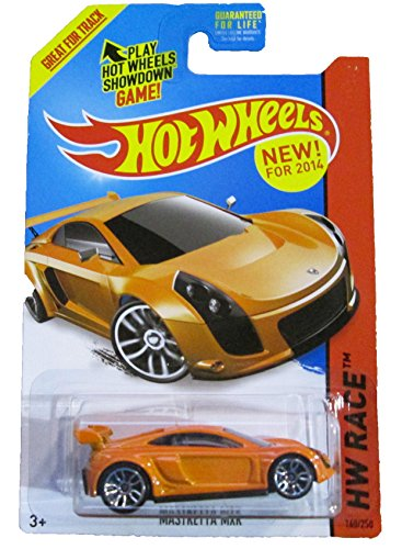 Hot Wheels - 2014 HW Race 168/250 - Thrill Racers - Mastretta MXR (orange)