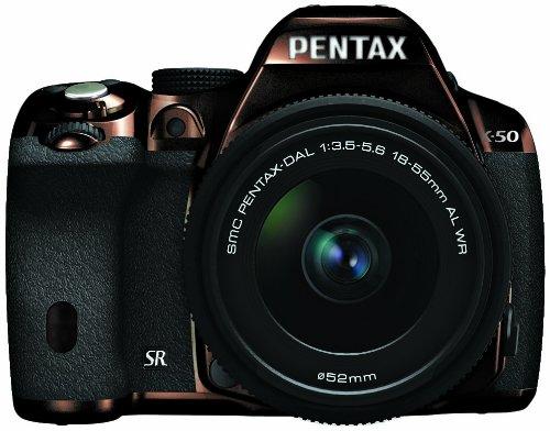RICOH デジタル一眼レフ PENTAX K-50 DAL18-55mmWRレンズキット メタルブラウン/ブラック 112 K-50 L18-55WR KIT METAL BROWN/BLACK 112 11266
