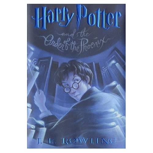 Harry Potter Book Kmart ~ Harry potter and the order of phoenix book j k