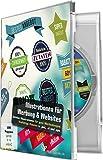 Software - Illustrationen f�r Werbung, Banner und Websites (Win+Mac)