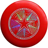 Discraft 175 gram Ultra Star Sport Disc, Red