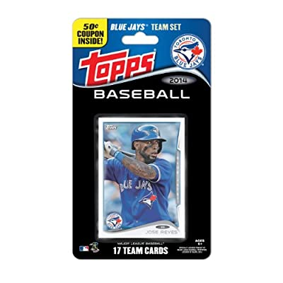 MLB Toronto Blue Jays 2014 Team Set Trading Card