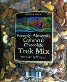 Trader Joes Simply Almonds, Cashews & Chocolate Trek Mix