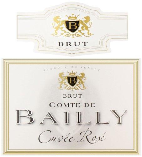 Comte de Bailly NV  Rose 750 mL