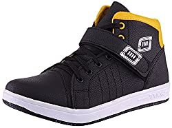 Dyoz Mens Black Synthetic Sneakers - 7 UK