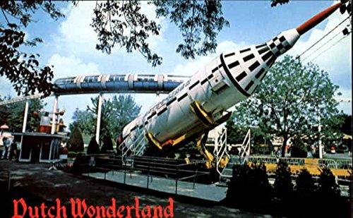 Dutch Wonderland, U. S. Rt. 30 East Lancaster Pennsylvania Original Vintage Postcard