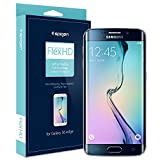 Galaxy S6 Edge 全面液晶保護フィルム, Spigen® 前面フィルム 2枚+背面フィルム 1枚 Flex シュタインハイル フレックス (国内正規品) (2015) (フレックス【SGP11481】)
