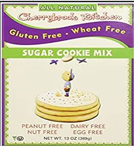 Cherrybrook Kitchen Gluten Free , Sugar Cookie Mix, 13-Ounce Boxes (Pack of 6)