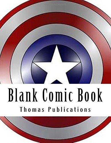 Blank Comic Book Big Start Big End Comic Pages [Publications, Thomas] (Tapa Blanda)