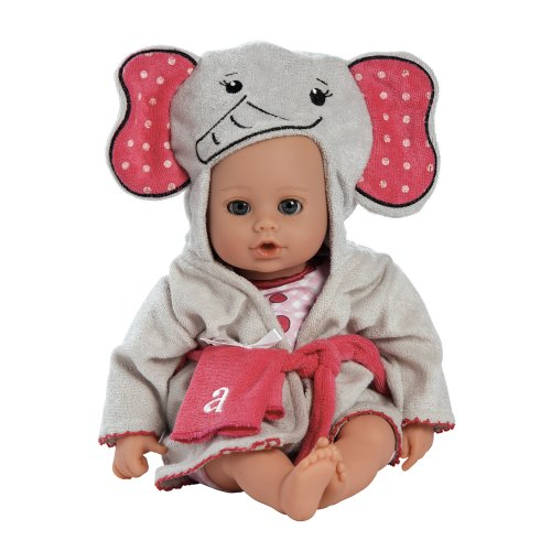 Adora-BathTime-Elephant-13-Girl-Washable-Play-Doll-with-OpenClose-Eyes-for-Children-1-Soft-Cuddly-Huggable-QuickDri-Body-for-Water-Fun-Toy