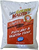 Carbon's Golden Malted Pancake and Waffle Flour Mix - 5 Lb Bag - Complete Mix