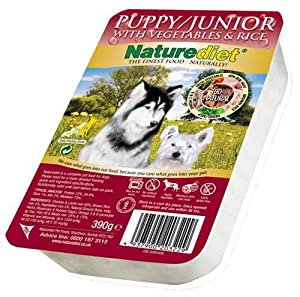 Naturediet Puppy/Junior Dog Food 390 g (Pack of 18) from Naturediet