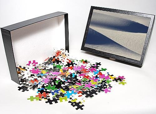 Photo Jigsaw Puzzle Of White Sands In The Tularosa Basin