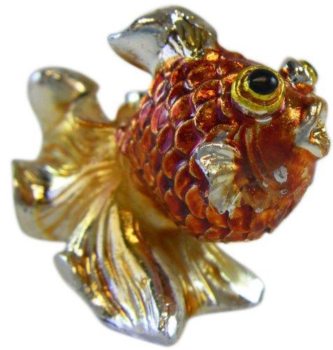 Ganz Decorative Gold Fish Figurine - Tiny Ganz Zoo Animal Figurine