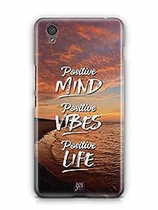 YuBingo Positive Mind Designer Mobile Case Back Cover for OnePlus X