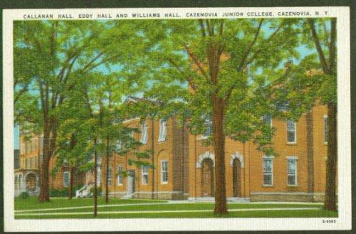 callanan-eddy-williams-hall-cazenovia-junior-college-ny-postcard-1940s